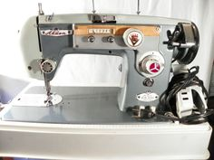 Vintage Restored Alden Sewing Machine, Made in Japan