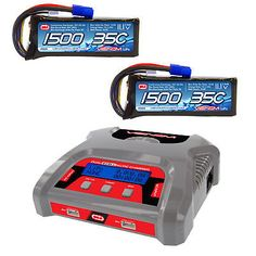 Chargers 56605: Venom Dual 3S Charger And 2 Pack Marine 35C 3S 1500Mah 11.1V Lipo W Ec3 Combo -> BUY IT NOW ONLY: $101.97 on eBay!