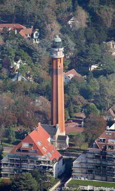 Phare de la Canche   Photo aérienne de Le Touquet-Paris-Plage - Pas-de-Calais (62)