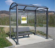 Abri arrêt de bus - Code produit: 11599063 - Cliquez sur la photo pour voir la fiche produit