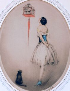 Icart, Louis (b,1888)- Each w Its own Purpose