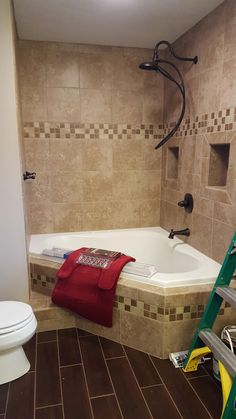 5 Competent Clever Tips: Small Shower Remodeling Marble bathroom shower remodeling before and after.Tub To Shower Remodel Bathtub Surround. Corner Tub Shower Combo, Bathtub Shower Combo, Diy Bathtub, Bathtub Cleaner, Bath Shower, Small Shower Remodel, Budget Bathroom Remodel, Bathtub Remodel, Small Bathroom