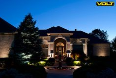 57 best house and front yard landscape lighting ideas images on beautiful landscape lighting get this look with volt aloadofball Image collections