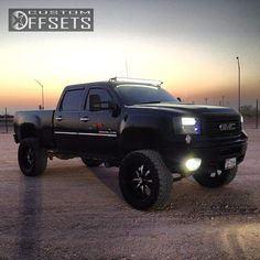 4 6 2011 sierra 2500hd gmc suspension lift 9 rbp 96r black gunmetal aggressive 1 outside fender