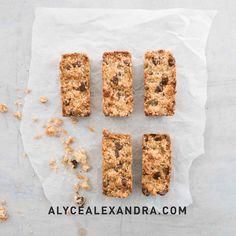 Jul 6 Thermomix Choc Chip Muesli Slice makes 12 vegetarian dried apricots macadamia nuts 1 Muesli Slice, Muesli Bars, Christmas Ice Cream, Orange Tea, Dried Apricots, Dark Chocolate Chips, Tea Cakes, Snacks, Real Food Recipes