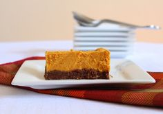 Low Carb Pumpkin Bars (Gluten Free and Dairy Free) | Living Low Carb One Day At A Time