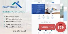 Download Realty House v1.0.0 - Responsive Real Estate WordPress Theme Nulled Latest Version