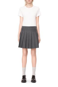 Weekday image 5 of Rouge Skirt in Dark Grey
