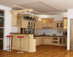 Phong thủy cho nhà bếp Modern Kitchen Paint, Modern Kitchen Design, Interior Design Kitchen, Kitchen Sets, Home Decor Kitchen, Home Kitchens, Kitchen Cabinet Design, Kitchen Cabinetry, Cabinet Furniture