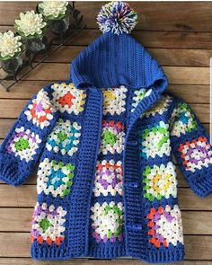 New Crochet Poncho Toddler Granny Squares 16 Ideas New Croch. New Crochet Poncho Toddler Granny Squares 16 Ideas New Crochet Poncho Toddler G Crochet Baby Jacket, Crochet Baby Sweaters, Crochet Baby Clothes, Crochet Poncho, Crochet Toddler, Crochet Girls, Crochet For Kids, Free Crochet, Granny Square Poncho