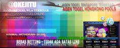 Situs Bandar Togel Online Terpercaya,Menyediakan 16 Pasaran Togel Terbaik, OKEJITU  100% TERPERCAYA...