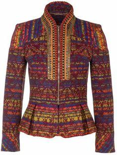 Matthew Williamson Summer jacket purple on shopstyle.co.uk