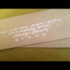 Custom Calligraphy Wedding or Save the Date by LovelyLettersInc, $2.00