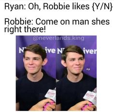 Aww is Robbie blushing ❤️ Once Upon A Time Peter Pan, Once Upon A Time Funny, Once Up A Time, Peter Pan Ouat, Robbie Kay Peter Pan, Peter Pan Fanfiction, Peter Pan Imagines, Heroes Reborn, Got Memes
