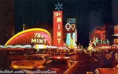 This week's winner comes to us from @VegasDaze for a classic Fremont St picture.  With all the talk and complaining we and several people like us have done about all the changes going on in Vegas, this photo reminded me how much things inevitably change in Vegas, all the time, and if they didn't, odds are, we wouldn't have what we have today.  This photowas taken from just west of Fremont and 1st street in the late 60s early 70s.  It shows the California club still...