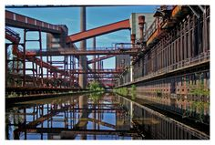 Zeche Zollverein III in HDR