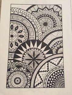 Doodle Patterns 318277898669314813 - 31 Ideas for doodle art ideas draw zentangle patterns Source by nachry Cute Doodle Art, Doodle Art Designs, Doodle Art Drawing, Zentangle Drawings, Cool Art Drawings, Mandala Drawing, Doodle Patterns, Art Drawings Sketches, Zentangle Patterns