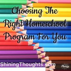 Choosing the right homeschool program for your child can be tricky. There are many options to choose from. Check out our options and our choice for school.