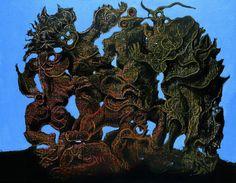 """Max Ernst - La Horde (""""The Horde""""), 1927"""