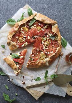 Tomatentaart met honing en feta, Gezonde recepten, Makkelijk taartdeeg maken, Gezonde foodblogs, Makkelijk en gezond avondeten, Beaufood blog, Zomerse lunch recepten