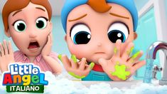 Don't forget to wash your hands Baby John! It is very important to wash your hands before eating to avoid getting sick. Sing-along with this super fun health. Zoo Songs, Kids Songs, Song Meme, Germs For Kids, Best Nursery Rhymes, Angel Kids, I Love My Brother, Rhymes For Kids, Party