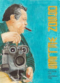 """Orson Welles   Unos de los grandes del siglo XX , su película """" El ciudadano Kane"""" 1941 ha sido considerada la mejor película de todos los tiempos. Recomiendo """"Sed de mal"""" 1957"""