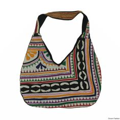 Buy this trendy multi #jhola bag with beautiful hand embroidered collection of the prettiest handbag by #droomfashion. Get your hands on the chic and #stylish #handbag and be ready to catch the attention of every passing eye. These stylish bags are designed to match the taste of all the stunning ladies, girls, students out there.