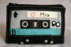 mix tape feltie