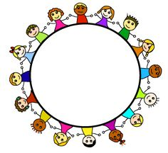 page 2 multicultural friendship globe circle clip art