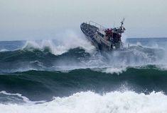 Coast Guard Motor Lifeboat | Coast Guard Station Tillamook Bay
