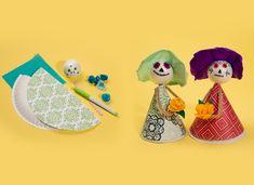 DIY Dia De Los Muertos (Day Of The Dead) Crafts