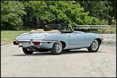 F93 1970 Jaguar XKE Convertible JCNA National Champion Photo 3