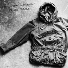 SBS Canoeist Smock Outdoor Wear, Outdoor Outfit, Blanket Coat, Perfect Wardrobe, Denim Fashion, Fashion Men, Cool Jackets, Vintage Outfits, Vintage Clothing