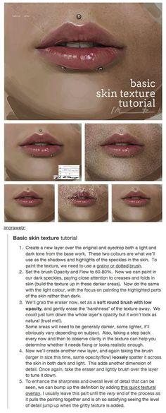 Basic skin texture tutorial by Isabella Morawetz