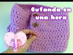 Bufanda en una hora facil a ganchillo //Scarf in an easy hour to crochet