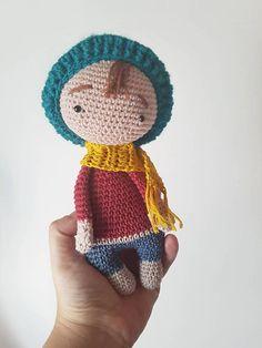 Crochet Soft Doll Little Boy Amigurumi boy Doll Crochet