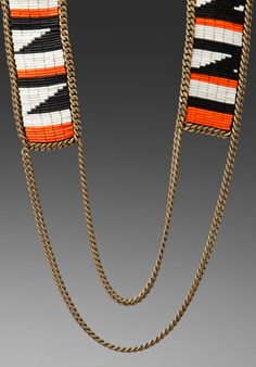 Love these Fiona Paxton tribal inspired necklaces.