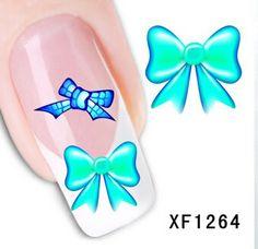 Novo estilo XF1264-Fashion transferência de 1 folhas 3D DIY decoração de unhas Nail Art Sticker Decal prego ferramentas unhas alishoppbrasil Manicure Tools, Nail Tools, 3d Sticker, Decals, Prego, Nail Art Stickers, 3d Nail Art, Nail Wraps, Styling Tools