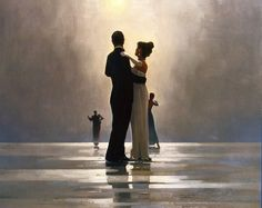 Dance Me to the End of Love - Jack Vettriano ~ WOW