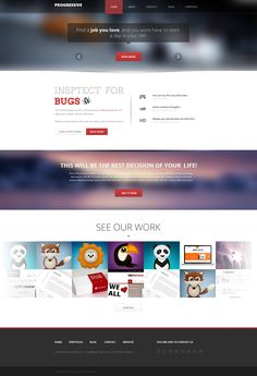 web design Web Design, Design Ideas, All Website, Corporate Wear, Ui Web, Web Inspiration, Find A Job, User Experience, Psd Templates