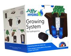 The Jiffy Hydro Growing System allows young to mature plants to grow in the comfort of your own home. Designed for indoor use, it is the perfect hydroponic system to transplant young plants into from starter kits. Hydroponics Setup, Hydroponic Growing, Hydroponic Gardening, Self Watering Plants, Plants Delivered, Starting Seeds Indoors, Invasive Plants, Seed Starting, Water Garden