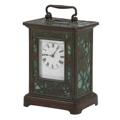 Carriage Clock Louis Comfort Tiffany Doyle Auctions
