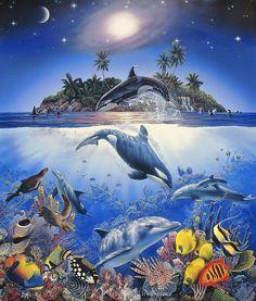Rainbow Sea II - Christian Riese Lassen - Artist
