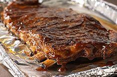 Sweet Mesquite BBQ Ribs recipe