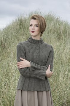 Strathspey patterncard kit by Alice Starmore in Hebridean 3 Ply pure British wool hand knitting yarn