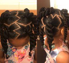 Hairstyles For Kids Black Natural Frisuren für Kinder Black Natural Lil Girl Hairstyles, Girls Natural Hairstyles, Easy Hairstyles For Medium Hair, Kids Braided Hairstyles, Easy Hairstyles For Long Hair, Toddler Hairstyles, Black Hairstyles, Everyday Hairstyles, Short Hair Styles Easy