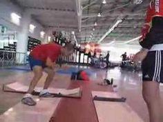 Derek Parra Slideboard Instructional Video