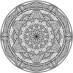 Krita Circles Mandala 7 by WelshPixie on DeviantArt