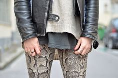 More cool layers (Or How To Make Crazy Pants Easy to Wear)