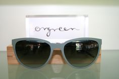Orgreen Florence Sunglasses in Mat Jade